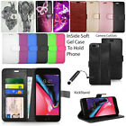 For Apple Iphone 6 7 8 Plus X Case Wallet Flip Leather Cover Book Protector