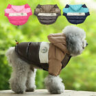 Puppy Winter Coat for Small Dogs&Harness Hole Waterproof Yorkie Clothes Hoodie
