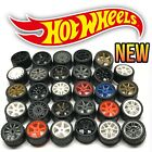 Hot Wheels Real Riders Wheels and Tires Set for 1/64 Scale