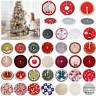 80-122cm Christmas Tree Skirt Base Floor Mat Cover Xmas Tree Ornament Decoration