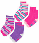 Girls 2 Pairs Socks Kids Gripper Non Slip 2 Pack Socks Winter Socks 2 Pisces Set