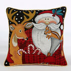 Christmas Festive Winter Xmas SANTA SQUIRREL Tapestry Unfilled CUSHION COVERS