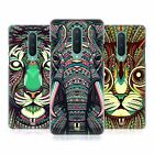 HEAD CASE DESIGNS AZTEC ANIMAL FACES 2 HARD BACK CASE FOR OPPO PHONES
