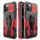For iPhone 12 Pro Max mini Shockproof Belt Clip Holster Case / Screen Protector