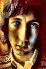 """The Who Poster/Metal Art """"Behind Blue Eyes"""" Pete Townshend Free Shipping!"""