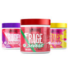 Warrior Rage SAVAGE Pre-Workout Powder Supplement - 40 Servings (330g) STRONG!