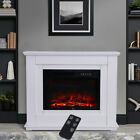Electric Fireplace Set/Fire Core Inserted Heater/MDF Surround Living Room 1800W