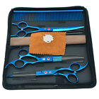 "7.0"" Professional Pet Grooming Scissors Set for Haircut Dog Hairdressing Tools"