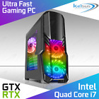 Ultra Fast Quad Core Gaming Pc I7 16gb Ram 2tb Rtx 2060 Windows 10 Computer