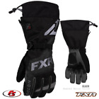New 2021 FXR Men's HEATED RECON Snowmobile GLOVE BLACK XS SM Md LG XL 2X 3X 4XL