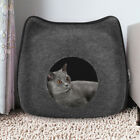 New Cat Bed Cave Small Wool Cozy Pet Igloo Bed Winter House Nest Kennel W6I0