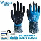 Wonder Grip Safety Work Gloves Fully Dipped Waterproof Cold-proof Gloves WG318