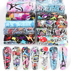 10pcs Colorful Scrawl Nail Stickers Nail Art Transfer Foil Wraps Decal Accessory