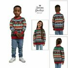 Season Greetings Novelty Matching Childrens Cracking Christmas Jumpers Sweater