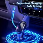 3 in 1 Flowing LED Magnetic Fast Charging Cable