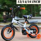 Toddlers Bike 12/14/16 In Wheels For Kids 2-7 Years Old Or 34-50 Inch Tall SALE
