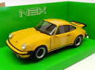 WELLY 24043Y or 24043S PORSCHE 911 TURBO 3.0 model cars yellow silver 1974 1:24
