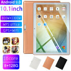 "10.1"" inch 4G-LTE/WiFi Tablet HD 8 128G Android 9.0 Dual Camera 10 Core Phablet"