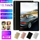 "10.1"" inch Android 9.0 Tablet PC 8 128GB 2 SIM Dual Camera GPS WiFi Phablet Pad"