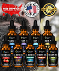 Beard Growth Oil - Fast Growing Beard Mustache Facial Hair oil for Men -9 Scents
