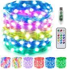 65FT 200LED Fairy Light 12 Color Changing w/Remote Home Garden Party Decor