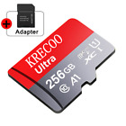 256GB Micro Memory SD Card 280MB/S Class10 Flash TF Card with Adapter For Phone