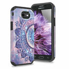 For Samsung Galaxy J3 Luna Pro/Emerge/Eclipse/Prime Rubber Design Phone Case