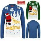 Christmas Funny Slogan Xmas Jumpers Snow Winter Knitted Sweaters Pullover Tops