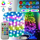 65FT USB Fairy String Lights 200 LED Twinkle Light w/12 Colors Changing 12 Modes