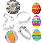 Egg Stainless Steel Biscuit Mould Cake Mold Easter Rabbit Easter Cookies Cutter