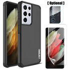 For Samsung Galaxy S21+ S21 Ultra S20 Note 20 Armor Case Lens & Screen Protector