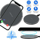 10W Qi Wireless Charger Dock Pad Charging Mat for iPhone 12 Pro Max Mini 11 XS