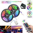 5M/10M RGB 5050 LED Strip Lights Color Changing With IR Remote Power Supply 12V