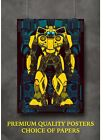 Transformers Bumblebee Movie Art Large Poster Print Gift A0 A1 A2 A3 A4