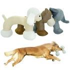 Dog Stuffed Animals Chew Toy for Aggressive Chewers Pet Indestructible Squeaker