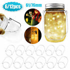 6PCS Mason Jar Hanger Hook Stainless Steel Wire Handles For Regular/Wide Mouth