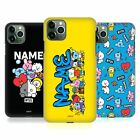 CUSTOM PERSONALISED BT21 LINE FRIENDS ART HARD BACK CASE FOR APPLE iPHONE PHONES