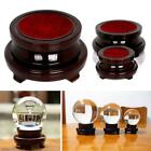 Super Wood Display Stand Base Holder For Crystal Ball Stone Globe  Sphere