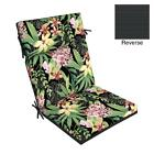 """Outdoor Chair Cushion 44"""" x 21"""" Tropical Cartridge Style Outdoor Furniture Set"""