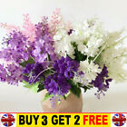 Artificial Hyacinth Silk Flowers Bunch Wedding Bouquet Home Party Decoration
