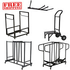 Lifetime Chair Storage Rolling Cart Dolly Heavy-Duty Stackable Wall-Mounted Rack