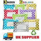Coloured Mailing Bags Dots Strong Polythene Postage Plastic Mail Post All Sizes