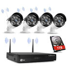 XVIM Wireless 1080P Security Camera System 4/8CH 1920TVL Wifi IP Camera CCTV NVR