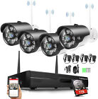 XVIM 8CH 1080P Wireless Home Security Camera System 2MP NVR CCTV with Hard Drive
