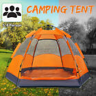 5-8 Person Automatic Camping Tent Large Waterproof Outdoor Hiking Travel Shelter