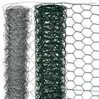 Nature Wire Mesh Fence Aviary Rabbit Chicken Cage Net Multi Sizes Green/Grey