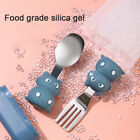 Baby Training Stainless Steel Spoon and Fork Short Handle Kids Spoon Fork Set