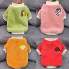 Small Dog Chihuahua Yorkie Toy Pet Fleece Clothes Coat Jacket Sweater Soft Warm