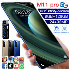 M11PRO 6.82'' Android 10.1 Mobile Smart Phone 8GB 128GB 10 Core Dual SIM Card