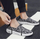 Men Lightweight Weave Soft Shoes Summer Casual Breathable Sport Running Sneakers